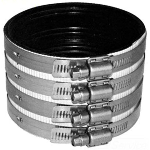 "#HC9515 - 3"" Heavy Duty 4-Band No Hub Coupling"