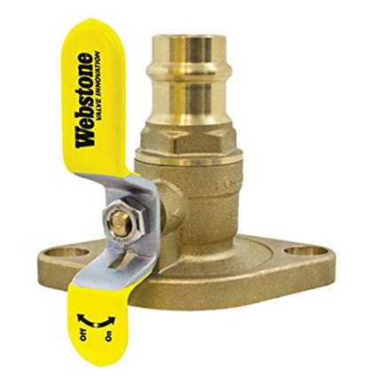 #HC2260-3/4 Webstone Isolator Press Ball Valve 3/4""