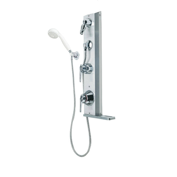 "#1-902S-FSB - Symmons ""Hydapipe"" Exposed Shower Unit"