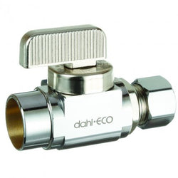 #HC2088LF-CP - Dahl 1/4 Turn Mini Ball Valve