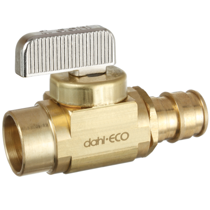 #HC9912LF - Dahl Wirsbo/Uponor Pex  1/4-Turn Mini Ball Valve