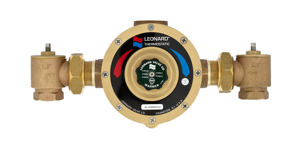#LV-981A-LF - Lead Free Leonard Single Thermostic Water Mixing Valve