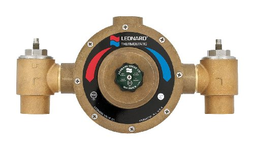 #LV-985-SW-LF-BDT - Lead Free Leonard Single Thermostatic Water Mixing Valve