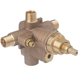 #S261XBODY - Temptrol® Shower Valve Body with Integral Volume Control and EasyService™ Stops