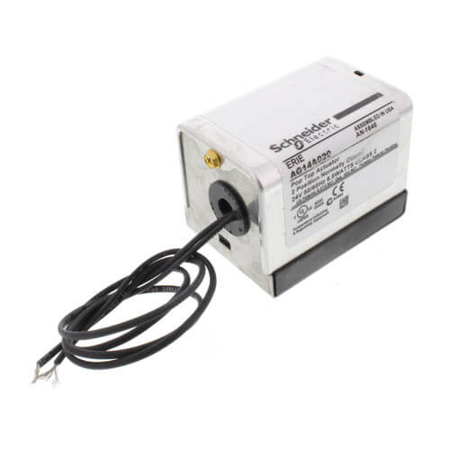 "#AG14A020 - Erie 24V Normally Closed High Temp PopTop Actuator w/ 18"" Leads"