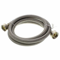 #HC7101-4 Fluidmaster Stainless Steel High Efficiency Washing Machine Hose