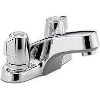 #HC1005 - Peerless Lav faucet less pop-up 1/4 Turn