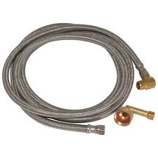 #HC4033-60 - Stainless Steel Dishwasher Connectors 5'