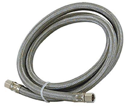 #HC4046-10 - Stainless Steel Icemaker Connector