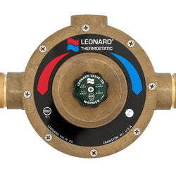 #LV-984-LF - Lead Free Leonard Single Thermostatic Water Mixing Valve