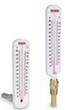 #RG45SB - STRAIGHT Hot Water Thermometer Gauge