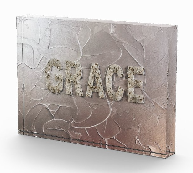 Grace Acrylic Art Block