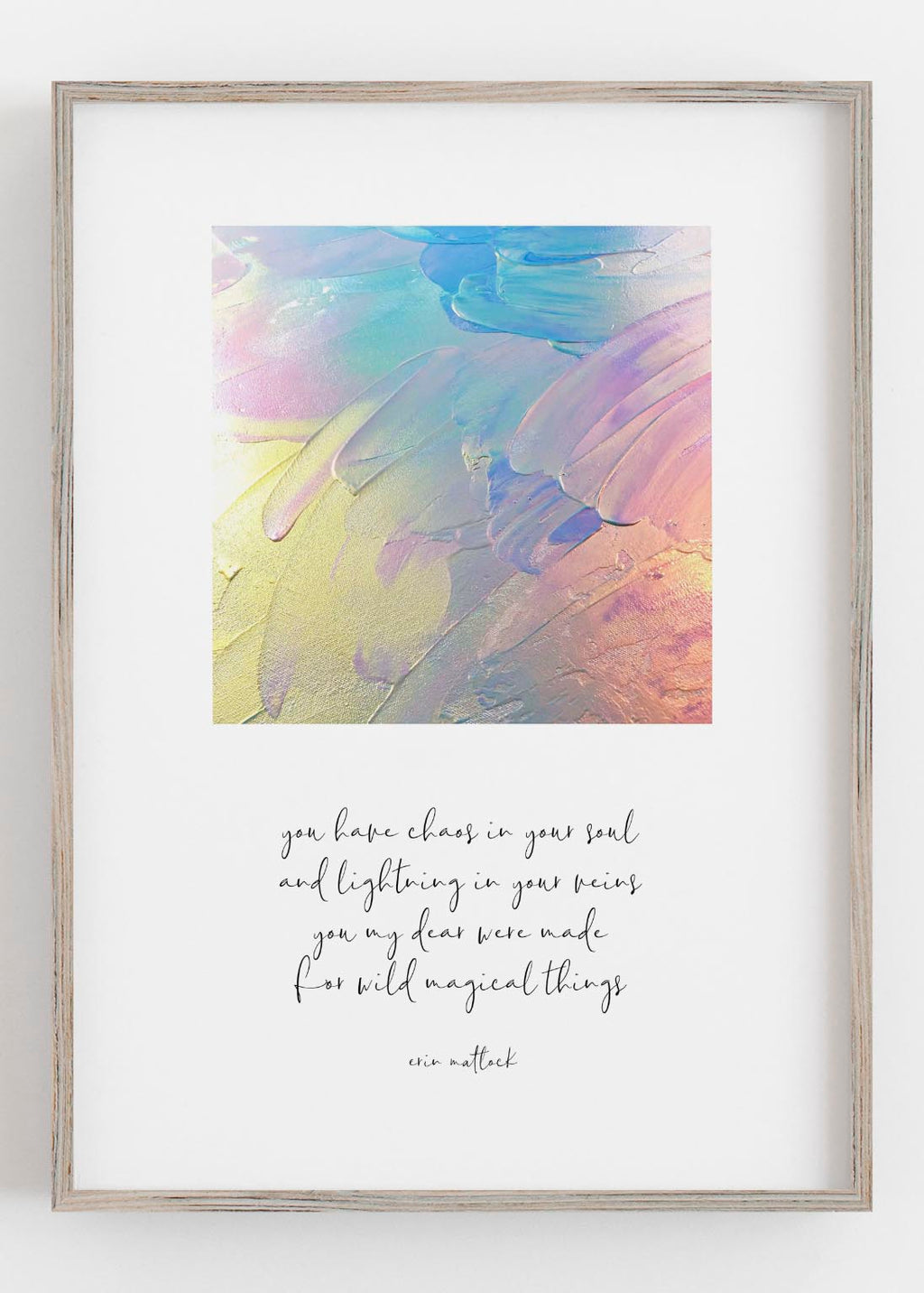 Magical Things Rainbow Print