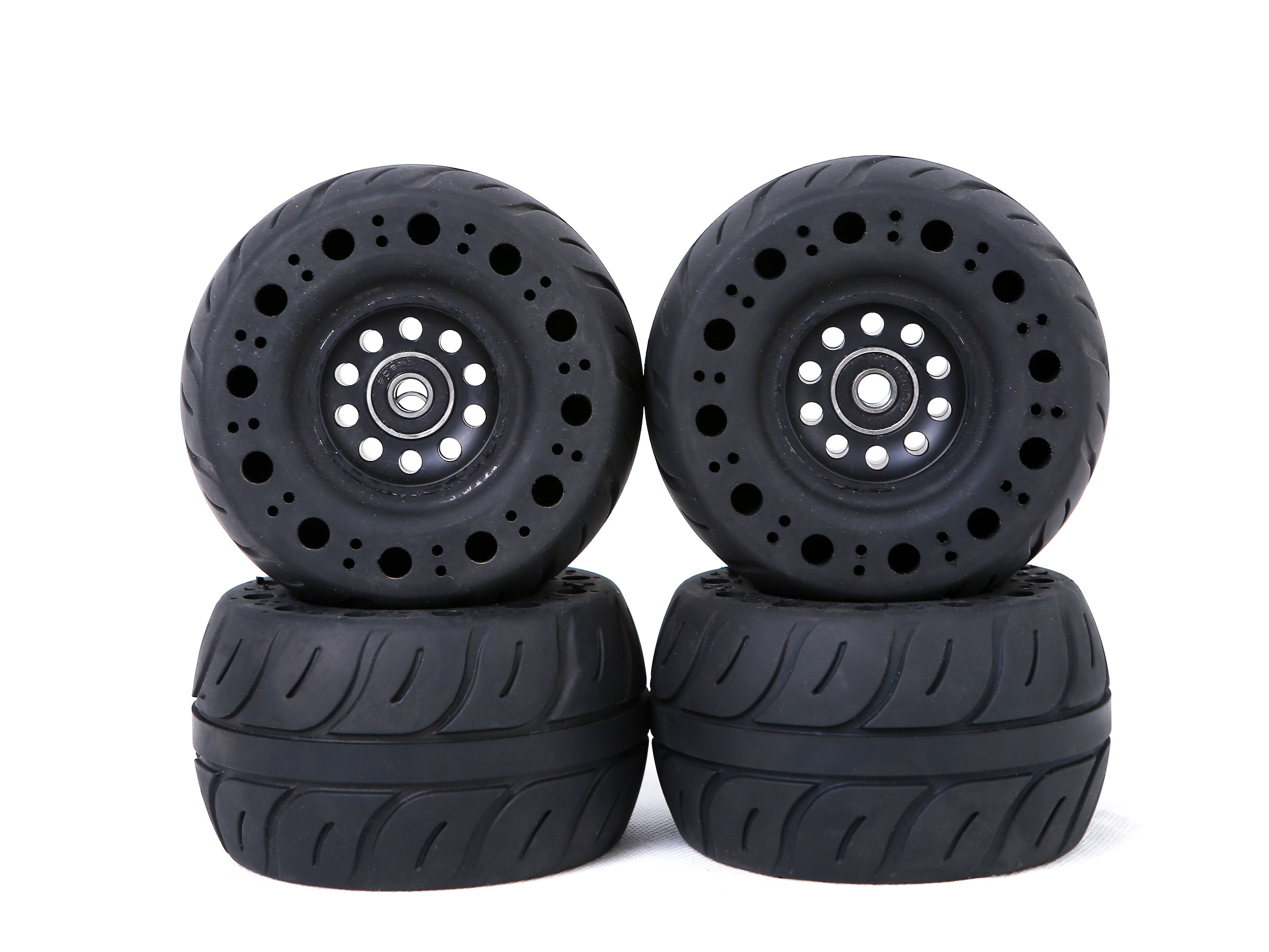 Electric Skateboard Wheels by ONSRA - 115mm Rubber Airless