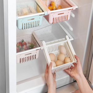 Adjustable Refrigerator Storage Rack