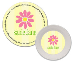 Daisy Personalized Mealtime Set | 2-Piece