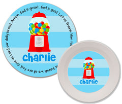 Gumball Boy Personalized Mealtime Set | 2-Piece
