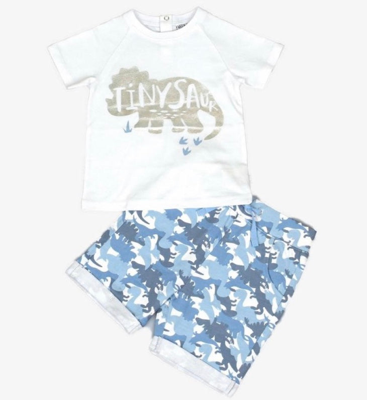 """Tinysaur"" Shorts Set"