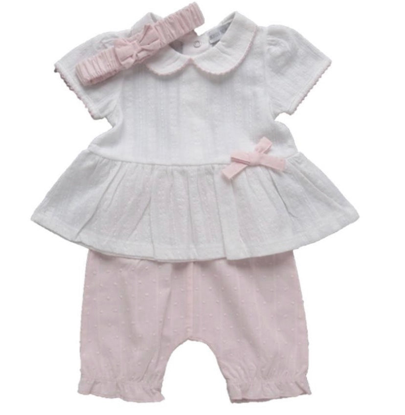 Dobby Dot Bloomer Set