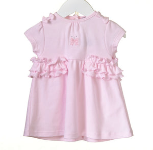 Pink Frill Dress & Bloomers