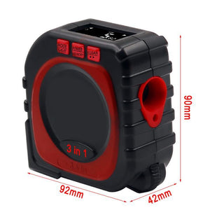 (50% OFF ONLY TODAY!) 3-in-1 Digital Laser Measure Tape Rangefinder