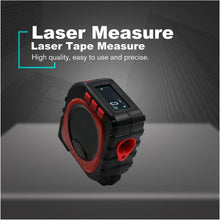 Load image into Gallery viewer, (50% OFF ONLY TODAY!) 3-in-1 Digital Laser Measure Tape Rangefinder