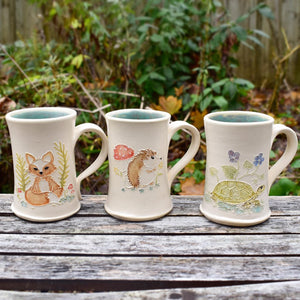 Porcelain Creature Mugs