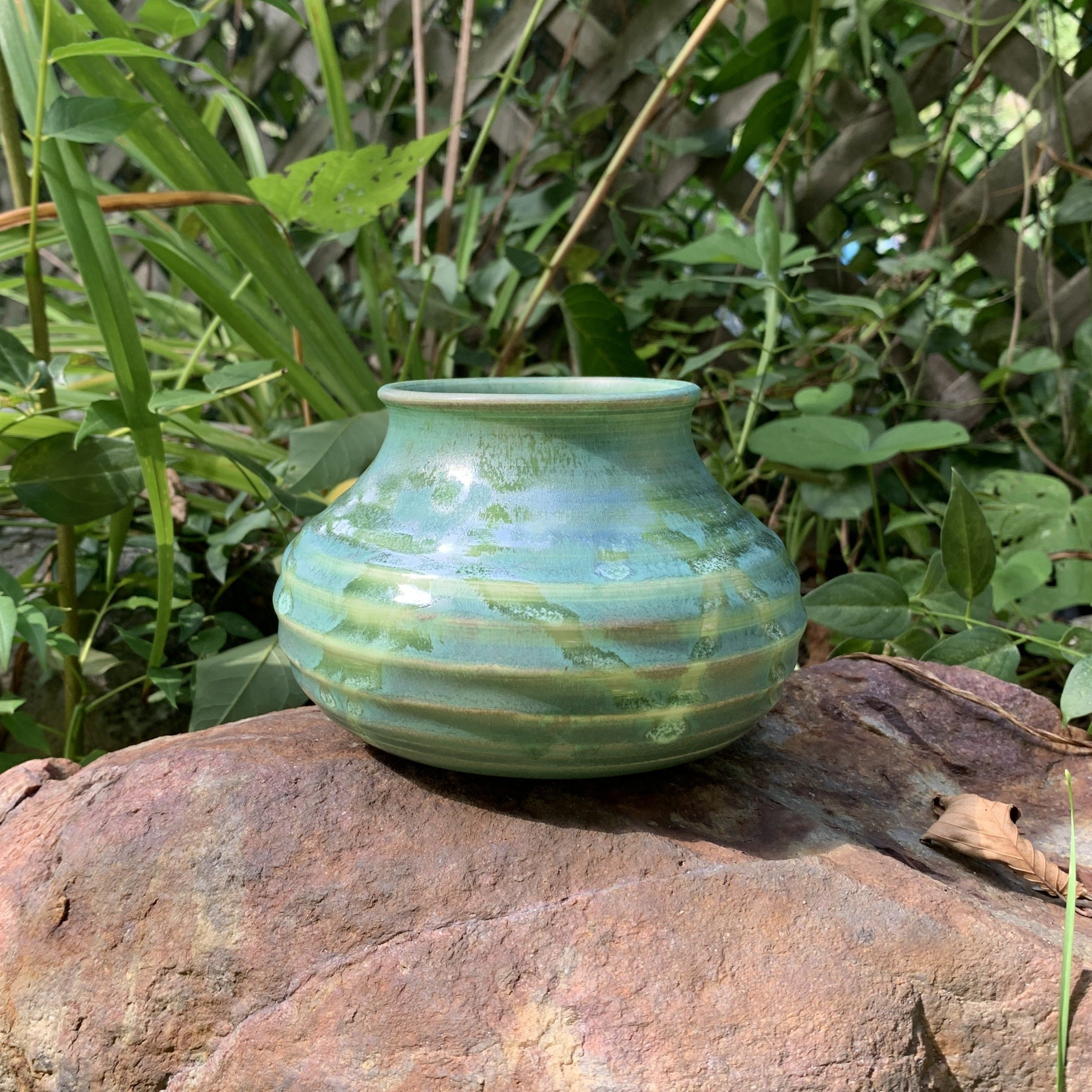 Porcelain Vase - Green