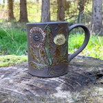 Load image into Gallery viewer, Dandelion Mug (18-20 oz)  ~ Handmade in Studio