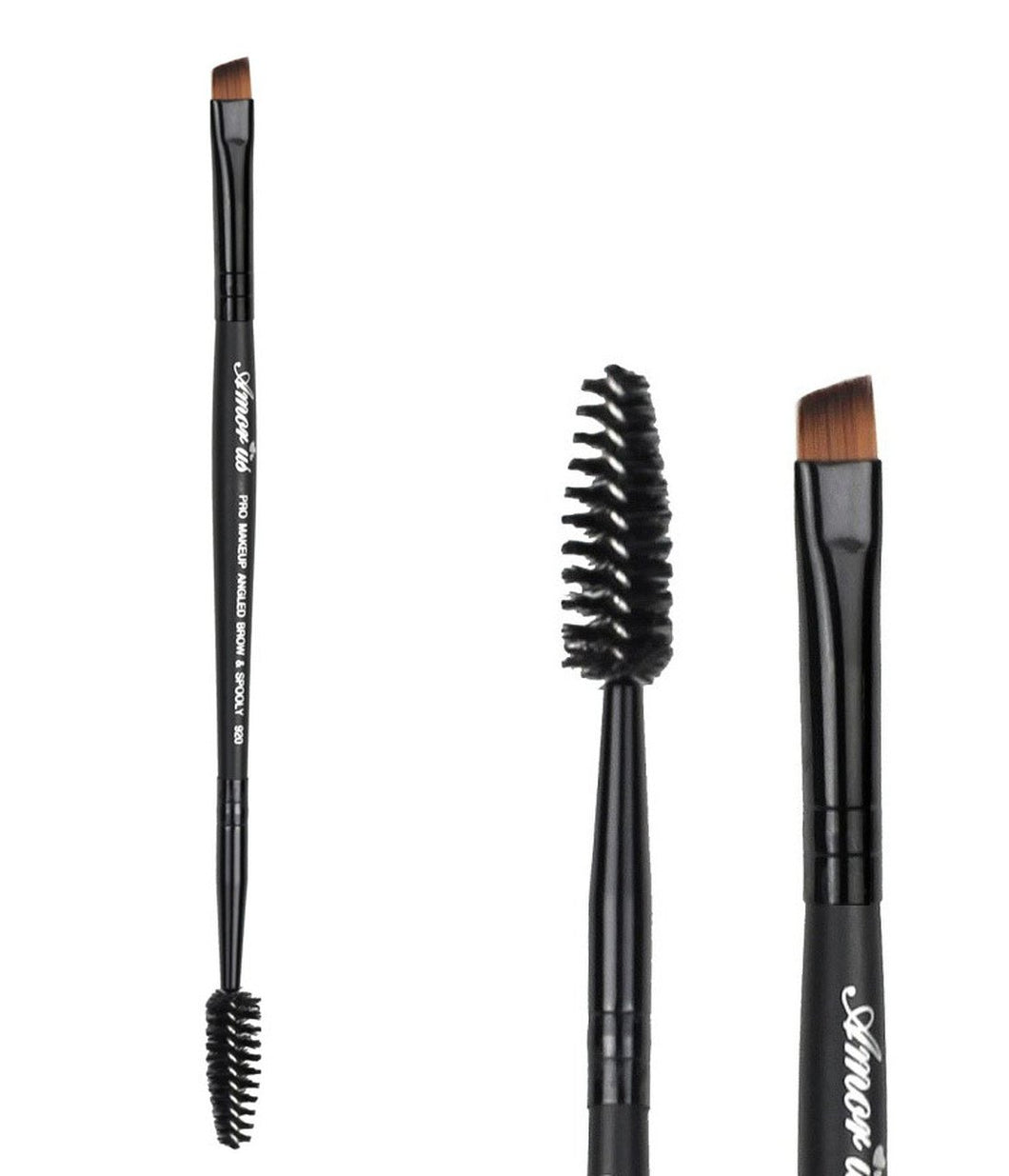 Professional Deluxe Duo Brow & Liner Brush