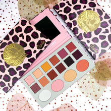 Load image into Gallery viewer, Leopardina 12 Eyeshadow + 4 Highlighter