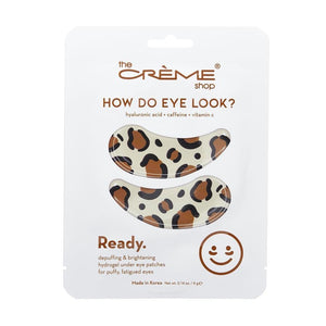 How Do Eye Look? Hydrogel Under Eye Patches
