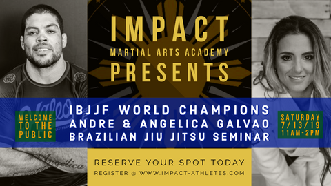 BJJ Seminar with Andre & Angelica Galvao
