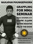 Grappling for MMA with Nakapan Phungephorn