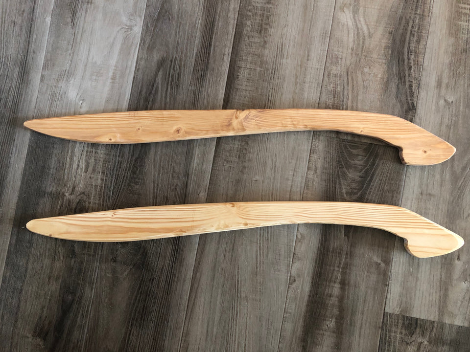 The Wooden Training Sword