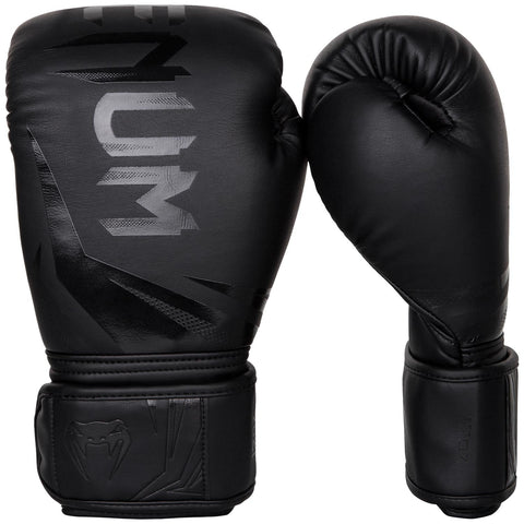 Venum Challenger 3.0 Boxing Gloves 16 Oz Black/Black