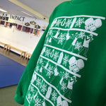 Muay Thai Fight Team Holiday Sweater