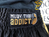 Muay Thai Shorts : Gold - Protector