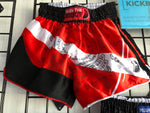 Thai Shorts Paed Tidt - Red