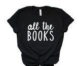 All The Books Tee