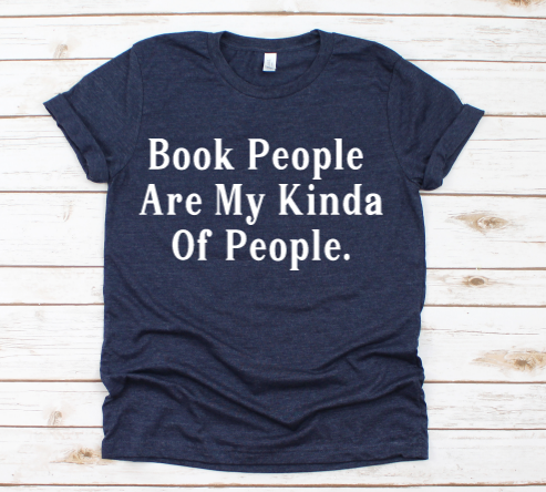 Book people are my type of people tee,