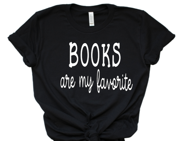 books are my favorite tshirt