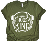 PREODER    Choose Kind Astronaut  Bella Unisex Tee