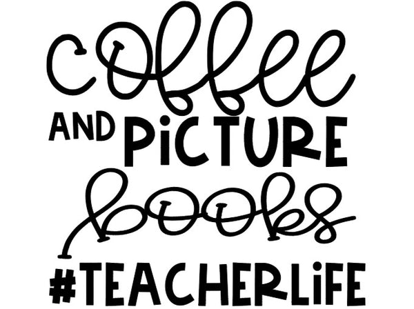 coffee and picture books digital download