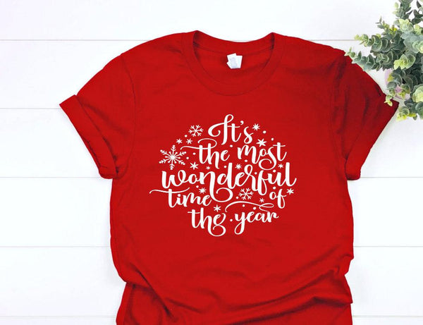The most wonderful time of the year christmas tshirt,