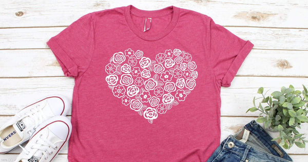 scribble heart shirt, valentines day shirt for her, teacher valentines day gift, valentine shirt for women