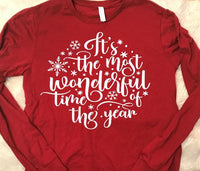 its the most wonderful time of the year  raglan, christmas gifts, christmas tees, christmas tshirts,  christmas raglan,