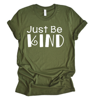 PREODER    just be kind bella unisex shirt