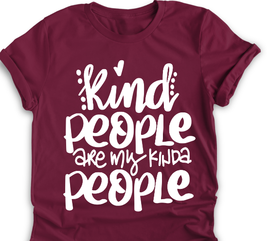 PREODER    Kind people are my type of people  Bella Unisex Tee