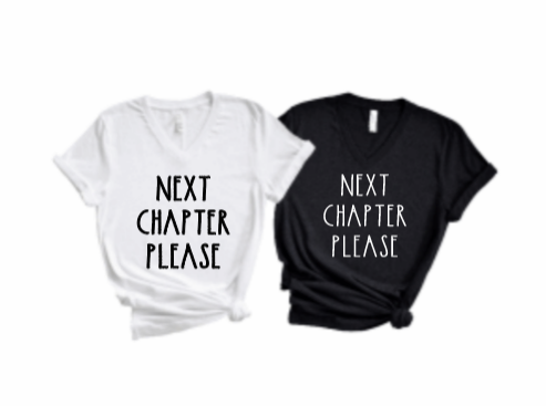 Feature Friday: Next Chapter Please tee